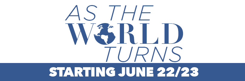 Tell Your Friends about Our New Series: As The World Turns – Escaping The Spiral