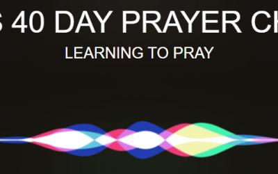 Fearless 40 Prayer Challenge: Encouragement