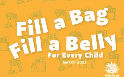 Celebrating Fill a Bag- Fill a Belly Kickoff!